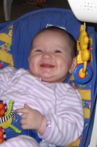 Un bebe sequito es un bebe feliz!